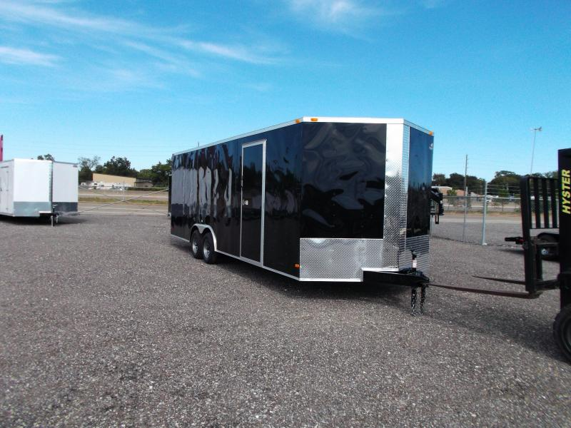 2016 Covered Wagon Cargo 8.5x24 Tandem Axle Cargo / Enclosed Trailer
