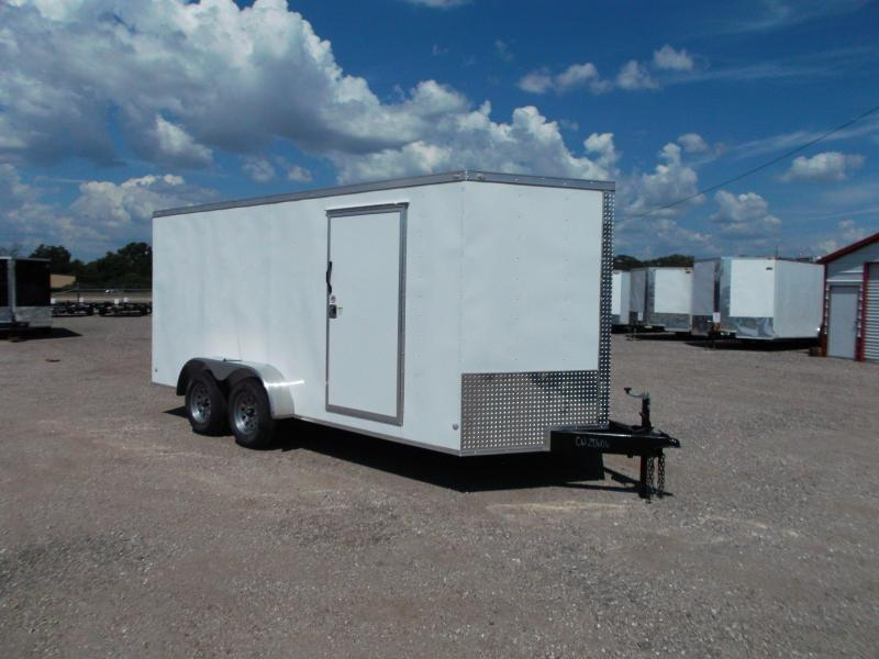 2017 Covered Wagon Trailers 7x16 Tandem Axle Cargo / Enclosed Trailer