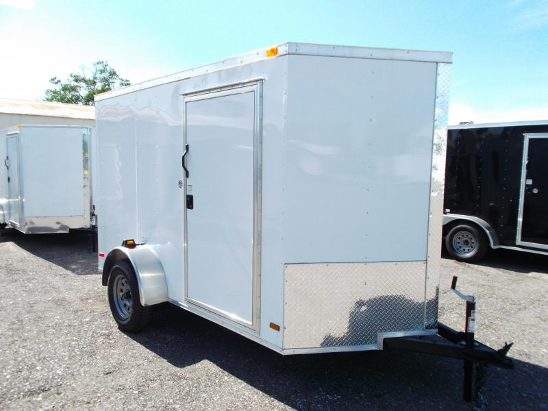 2014 Covered Wagon Trailers 6X10 Single Axle Cargo / Enclosed Trailer