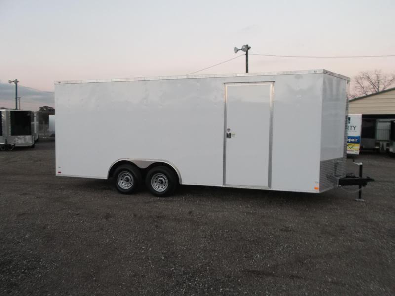 2016 Covered Wagon Trailers 8.5x20 Tandem Axle Cargo / Enclosed Trailer