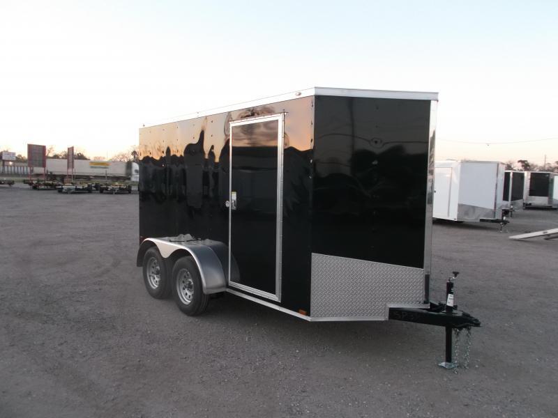 2016 Spartan Cargo Trailer 6x12 Tandem Axle Cargo / Enclosed Trailer w/ Ramp