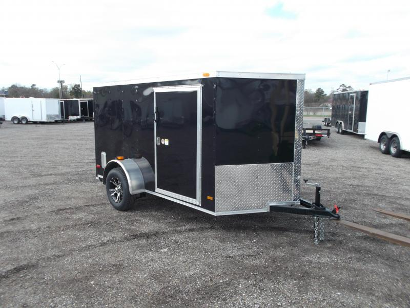 2015 Covered Wagon Trailers 6x10 Low Profile Motorcycle Trailer