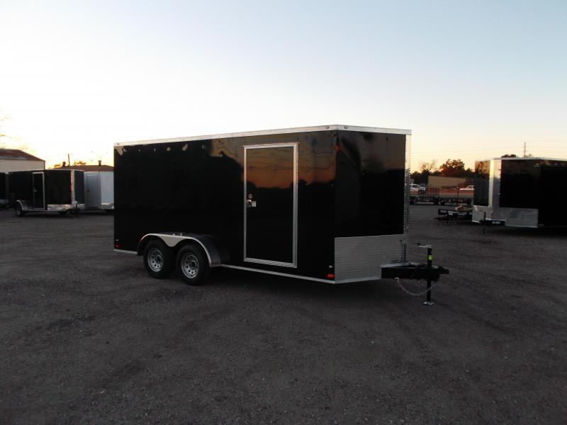 2016 Covered Wagon Trailers 7x16 Tandem Axle Cargo / Enclosed Trailer