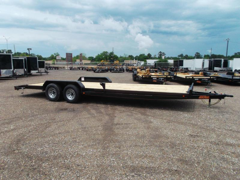 2019 Maxxd 83X24 Car Hauler Trailer / Race Car Trailer / Flatbed Trailer / Powder Coated / Dovetail / LEDs