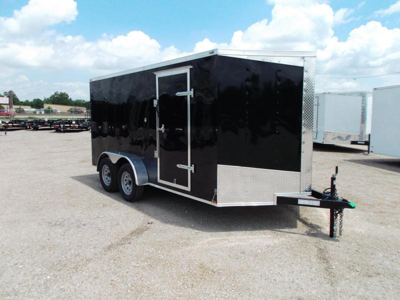 2018 Lark 7x14 Tandem Axle Cargo Trailer / Enclosed Trailer w/ Ramp