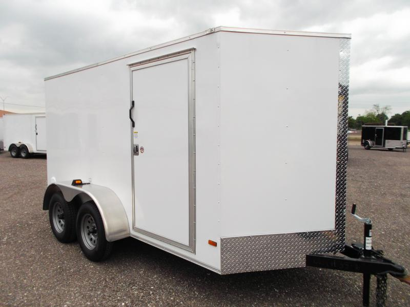 2014 Covered Wagon Trailers 6x12 Tandem Axle Cargo / Enclosed Trailer
