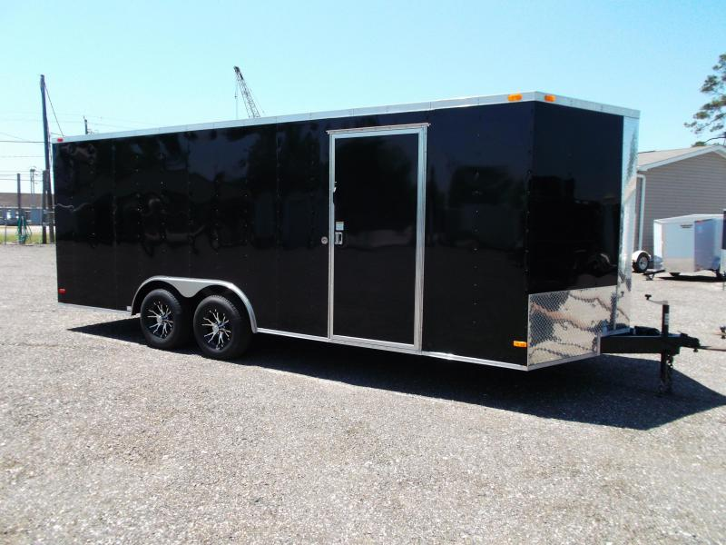 2014 Covered Wagon Trailers 8.5x20 Tandem Axle Cargo / Enclosed Trailer
