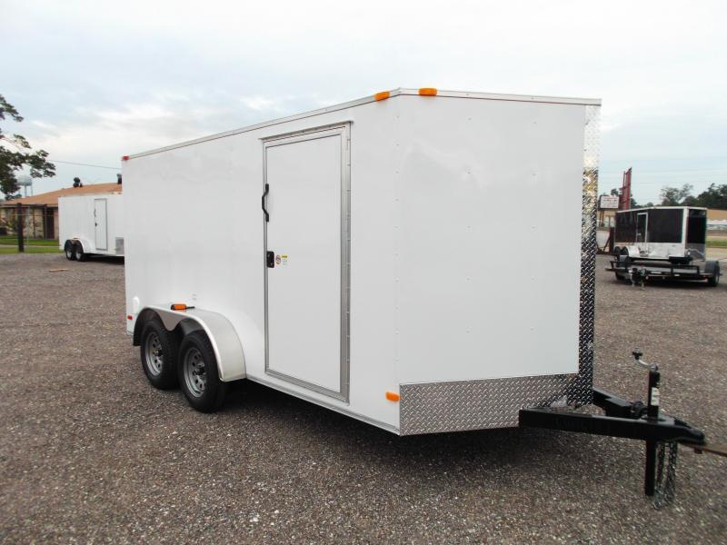 2015 Covered Wagon Trailers 7x14 Tandem Axle Cargo / Enclosed Trailer