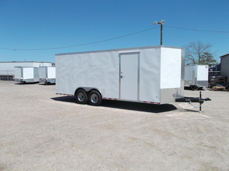 2019 Covered Wagon Trailers 8.5x20 Tandem Axle Cargo / Enclosed Trailer / XXL Package / 7ft Interior Height / 7000# Torsion Axles / Ramp / LEDs
