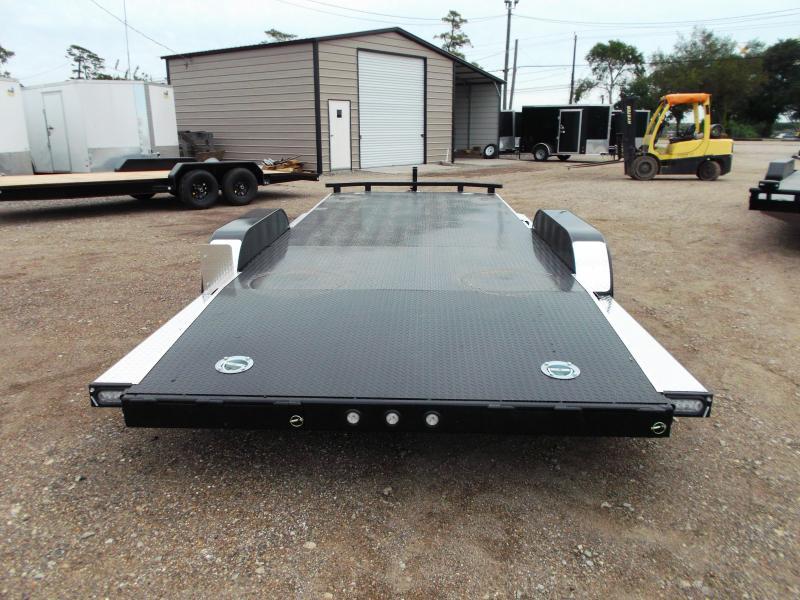2020 Maxxd 83X20 10K N5X Steel Deck Car Hauler / Racing Trailer / 5200# Axles / Powder Coated / All Tubing Frame / LEDs