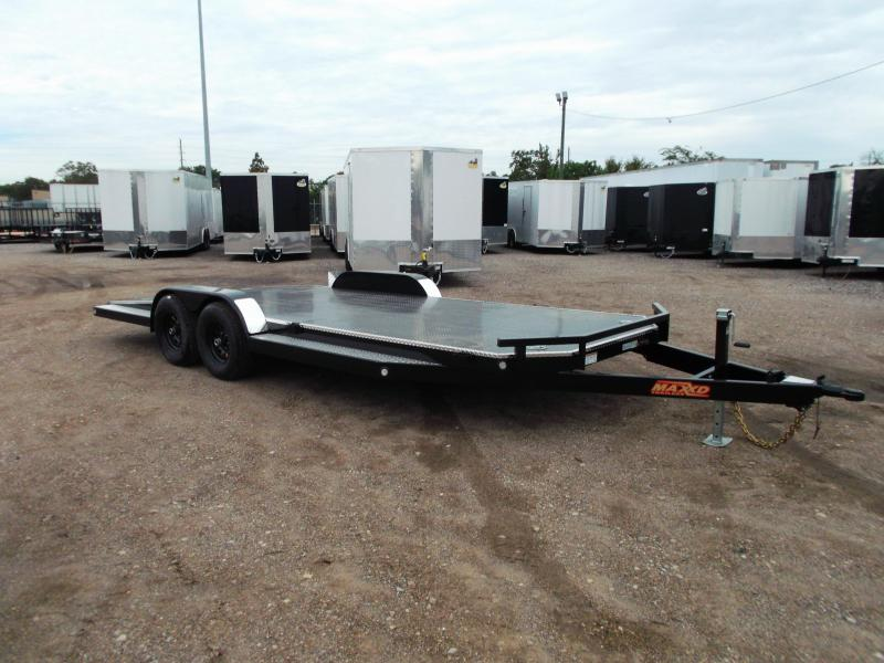 2020 Maxxd 83X20 10K N5X Steel Deck Car Hauler / Racing Trailer / 5200# Axles / Powder Coated / All Tubing Frame / LEDs