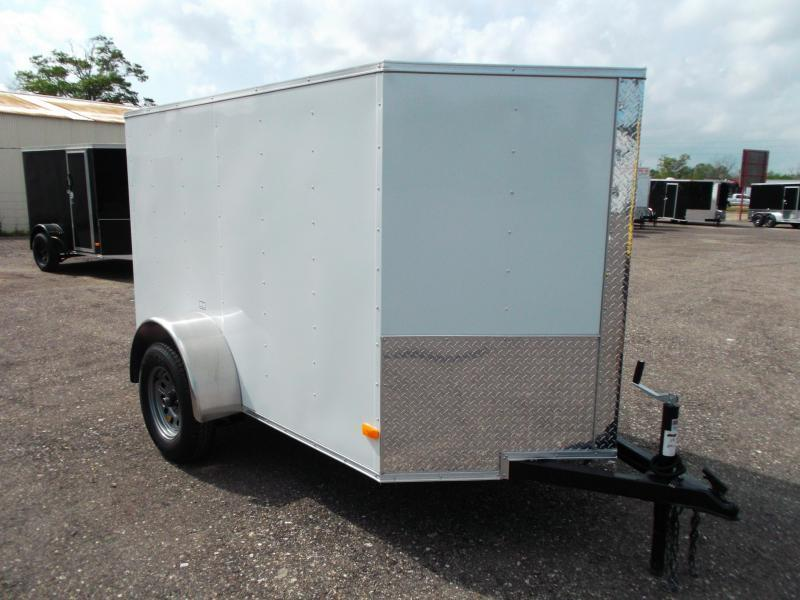 2016 Covered Wagon Trailers 5x8 Single Axle Cargo / Enclosed Trailer