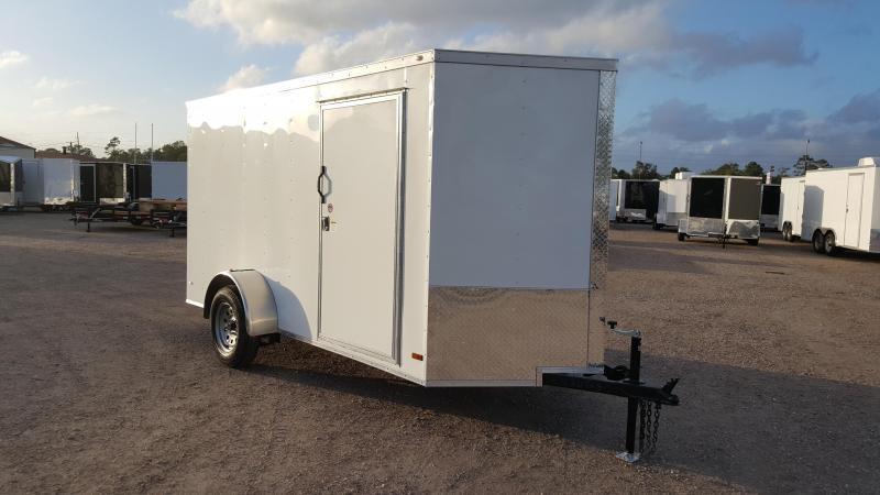 2016 Covered Wagon Trailers 6x12 Single Axle Cargo / Enclosed Trailer