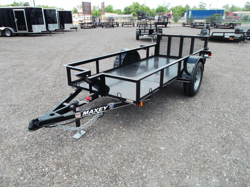 2014 Maxey 50x10 Motorcycle Trailer