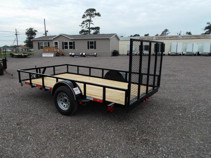 2015 Longhorn Trailers 77x12 Single Axle Utility Trailer
