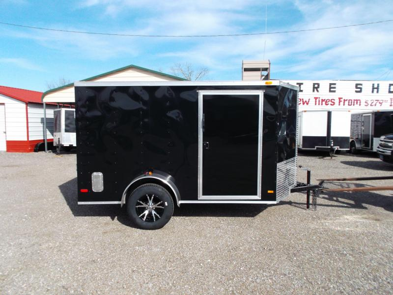 2016 Covered Wagon Trailers 6x10 Semi Low Hauler