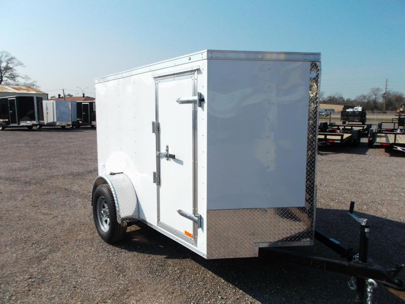 2016 Continental Cargo 5x8 Single Axle Cargo / Enclosed Trailer