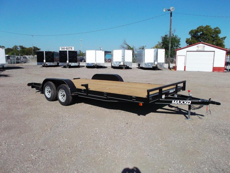 2016 Maxey 83x18 Car / Racing Trailer