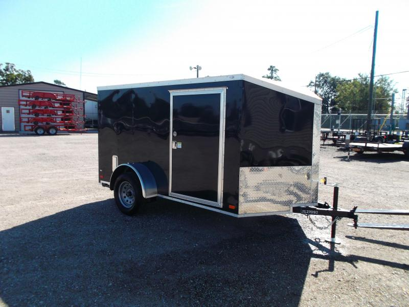 2017 Covered Wagon Trailers 6x10 Low Profile Motorcycle / Cargo Trailer