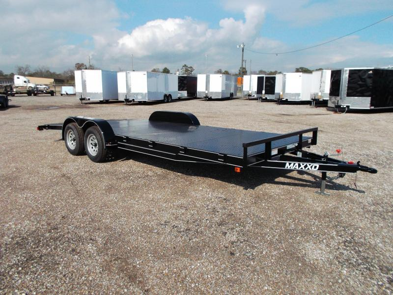 2019 Maxxd 83x20 Steel Deck Car Hauler / Racing Trailer / Powder Coated / 5ft Ramps / 4ft Dovetail