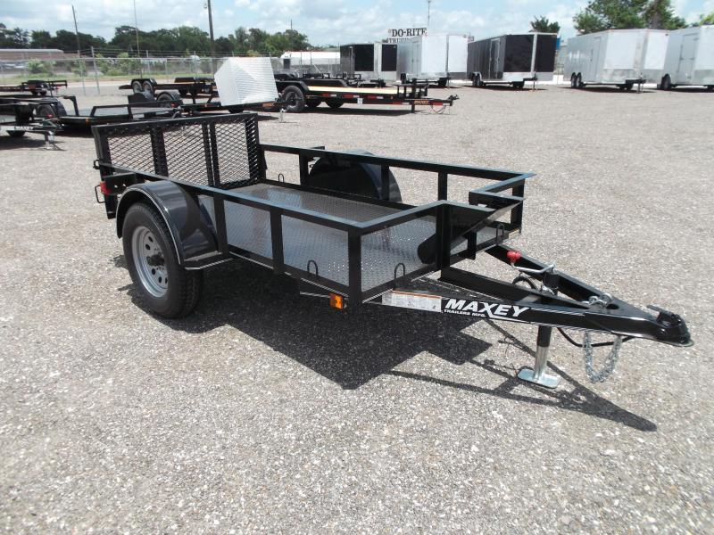 2015 Maxey 50x8 Motorcycle Trailer