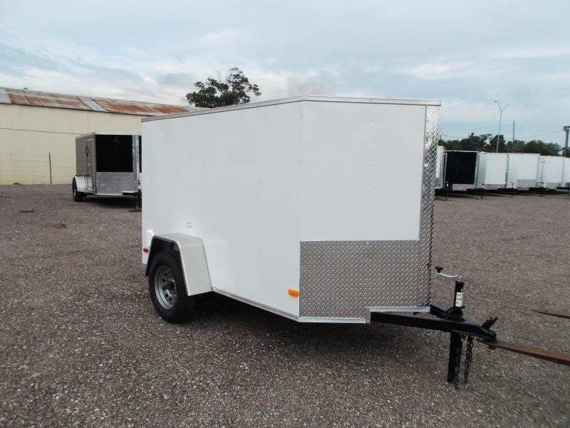 2015 Covered Wagon Trailers 5x8 Single Axle Cargo / Enclosed Trailer
