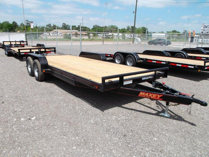 2015 Maxey 83X20 10K Car / Racing Trailer