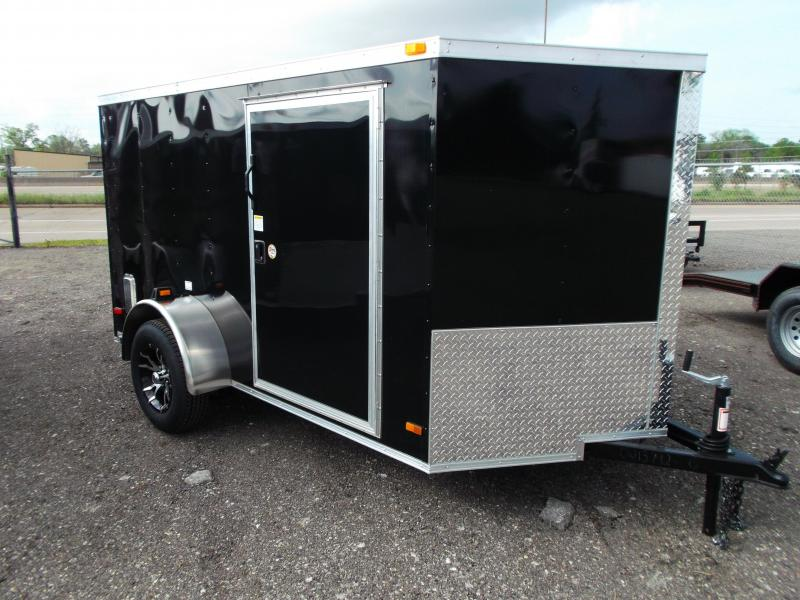 2014 Covered Wagon Trailers 6x10 Single Axle Low Profile Motorcycle Trailer