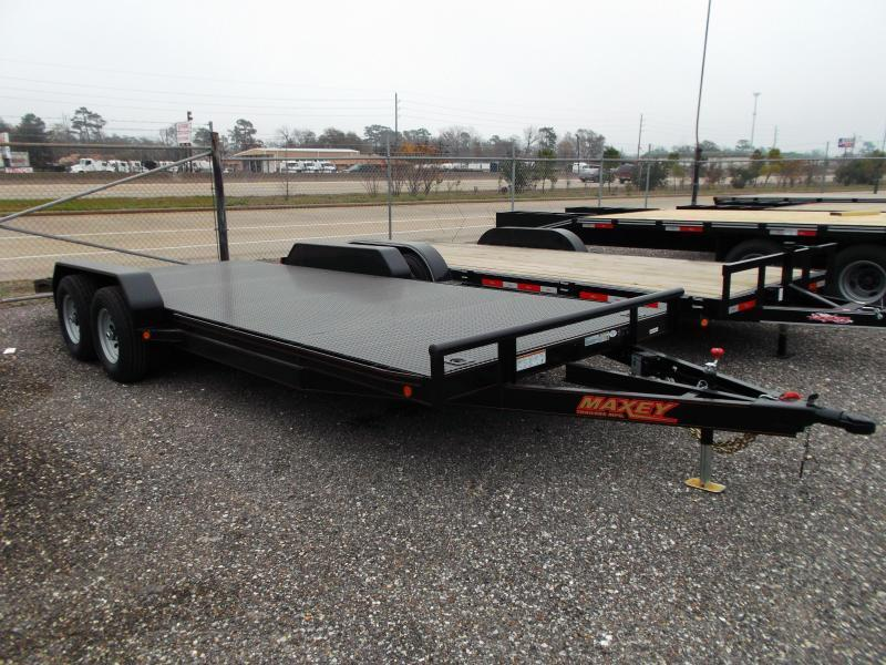 2015 Maxey 83X20 10K Steel Deck Car / Racing Trailer