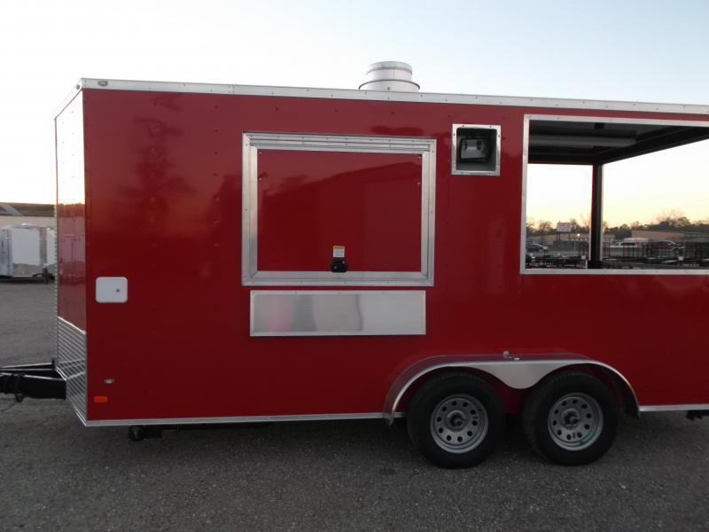 2018 Covered Wagon Trailers 7X16 BBQ Trailer / Concession Trailer / Vending Trailer