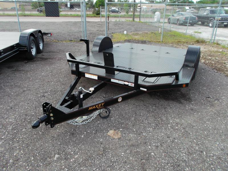 2014 Maxey Motorcycle Hauler Motorcycle Trailer