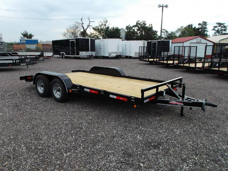 2017 Longhorn Trailers 83x18 Car / Racing Trailer
