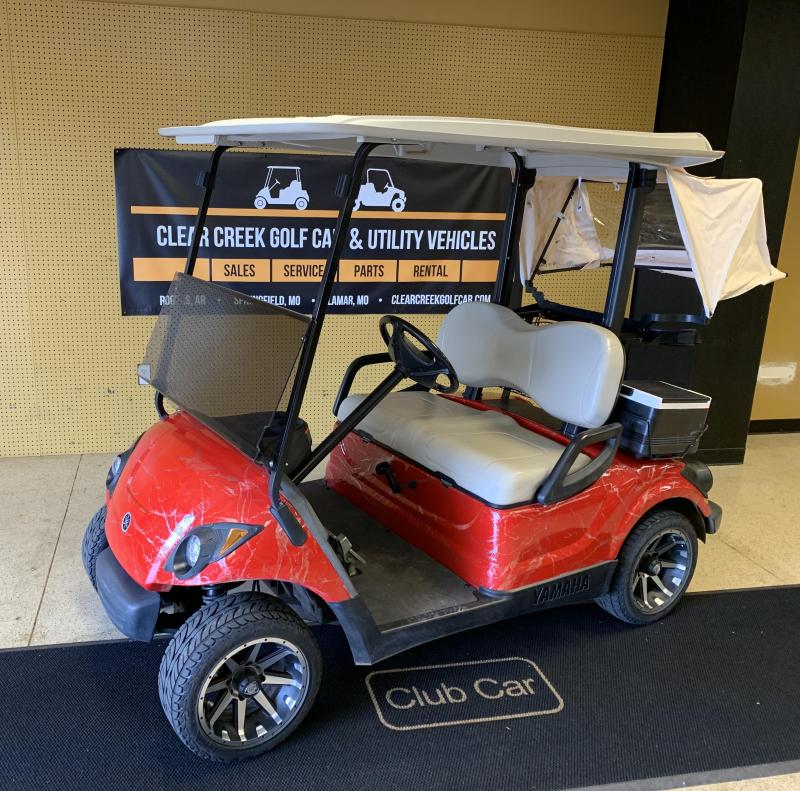 2009 Yamaha YDRE-PTV Golf Cart