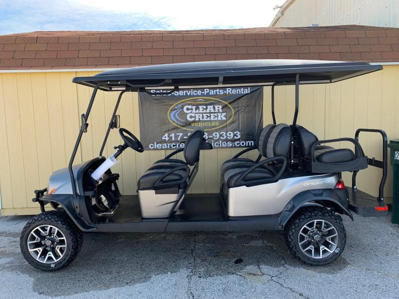 2019 Club Car Onward 6 Passenger Gas Golf Cart