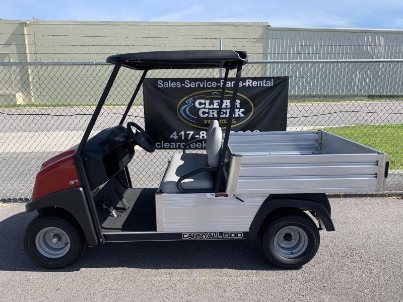 2019 Club Car Carryall 500 Utility Gas Golf Cart