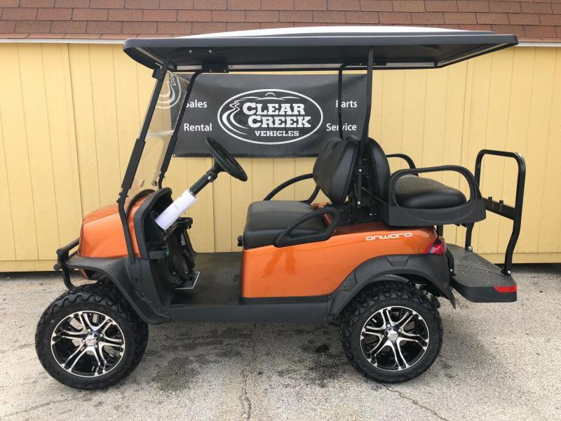 2018 Club Car Onward Gas Golf Cart Lifted