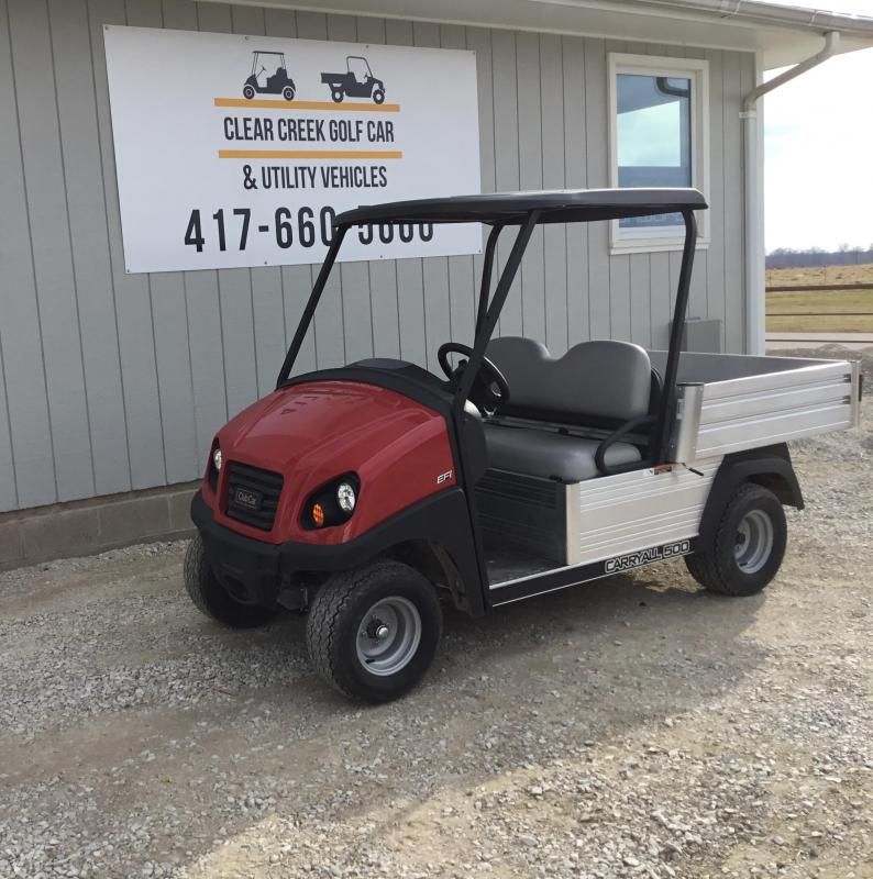 2019 Club Car Carryall Gas Golf Cart