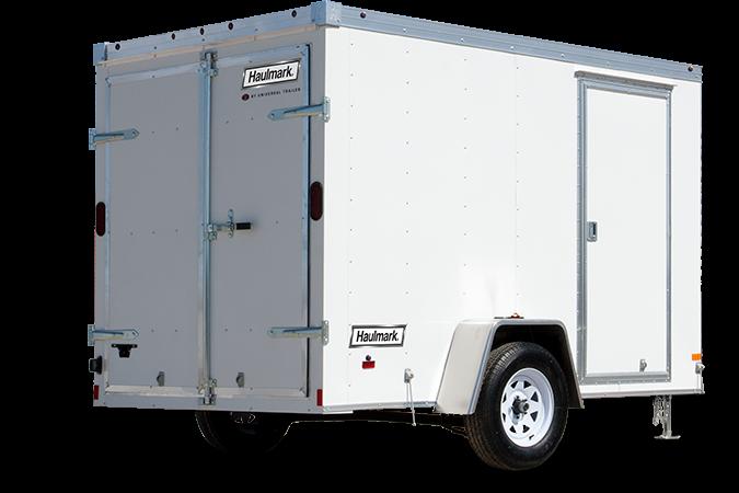 2018 Haulmark TSTV6X10DT2 Enclosed Cargo Trailer