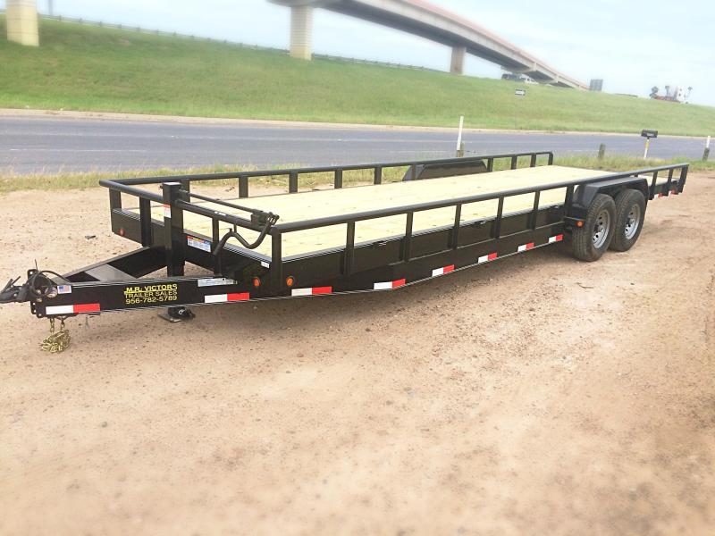 2017 MR VICTORS 83X24 HEAVY DUTY TRAILER