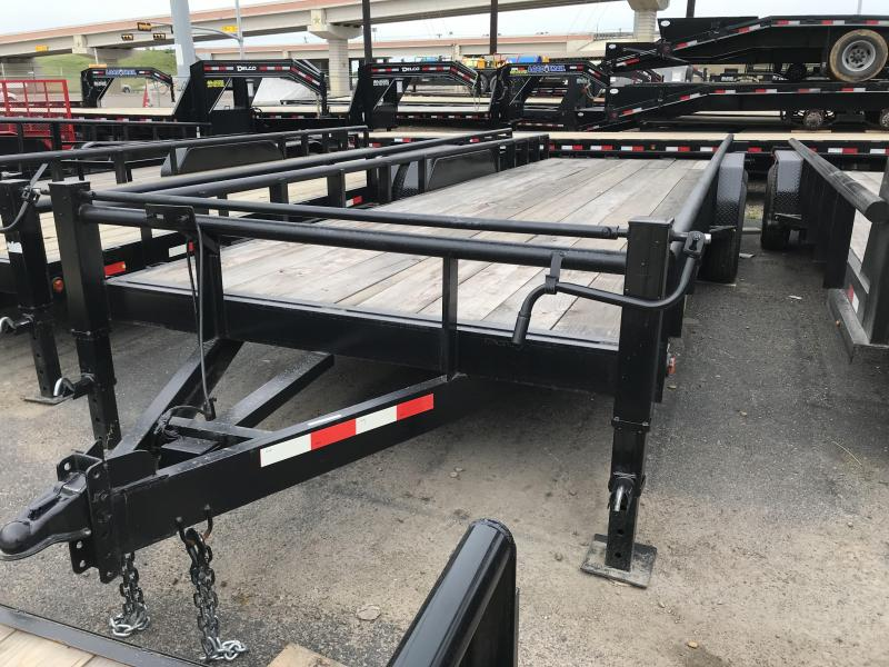 2019 MR VICTORS 83X24 HEAVY DUTY TRAILER