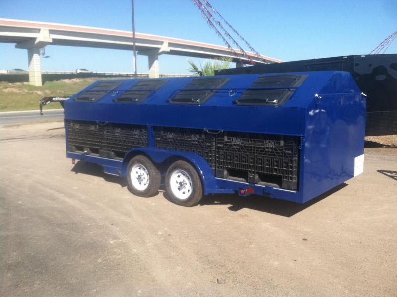 2014 Mr Victors Custom Recycling Trailer Utility Trailer