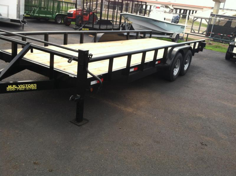 2017 MR. VICTORS  22 FT EQUIPMENT TRAILER Utility Trailer