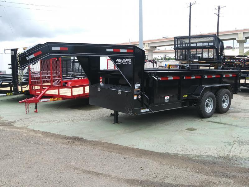 2019 MR VICTORS 83 X 16 GN DUMP TRAILER