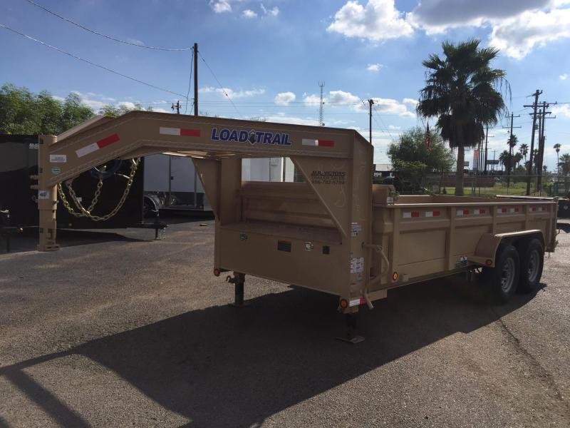 2018 LOAD TRAIL 83x16' DUMP TRAILER