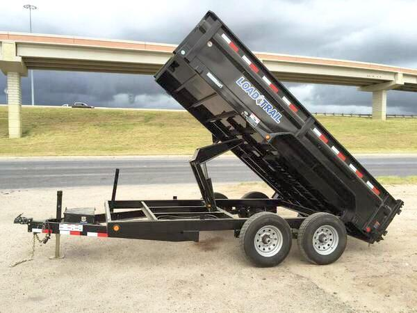 2018 LOADTRAIL 83X14 DUMP TRAILER
