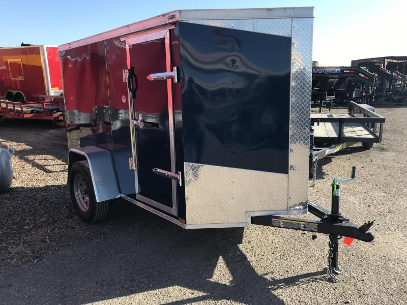2019 Lark 5X8 Enclosed Cargo Trailer