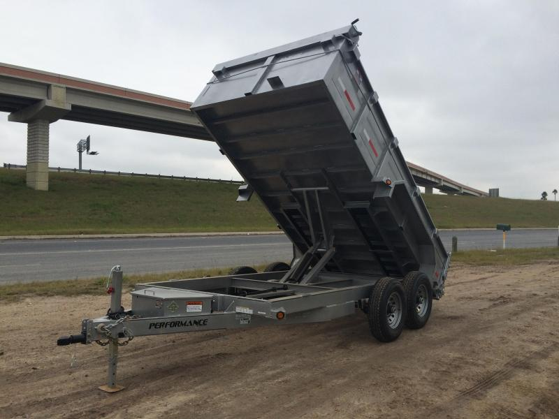 2015 Performance Trailers 83 X 14 Dump Trailer