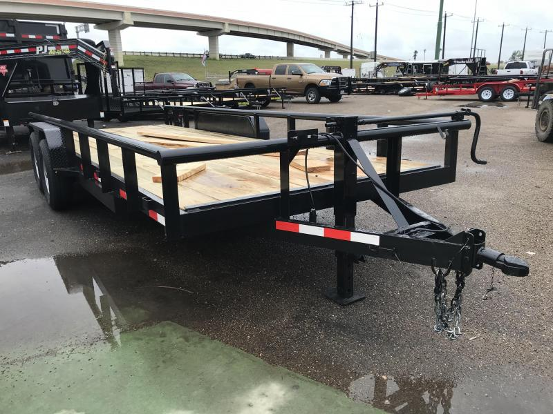 2019 MR VICTORS 83X18 HEAVY DUTY TRAILER