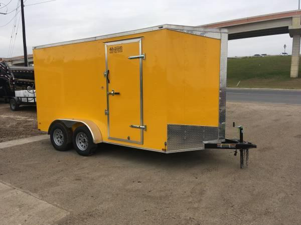2019 Lark 7X14TA Enclosed Cargo Trailer