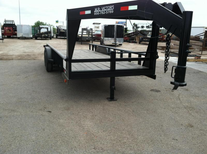 2019 Mr Victors 83X20 HEAVY DUTY GOOSENECK Equipment Trailers